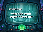 The Spy Who Didn't Love Me Cartoon Picture