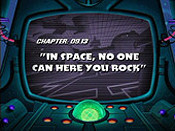 In Space, No One Can Hear You Rock Cartoon Picture