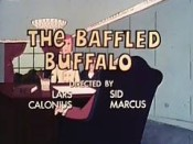 The Baffled Buffalo Free Cartoon Picture