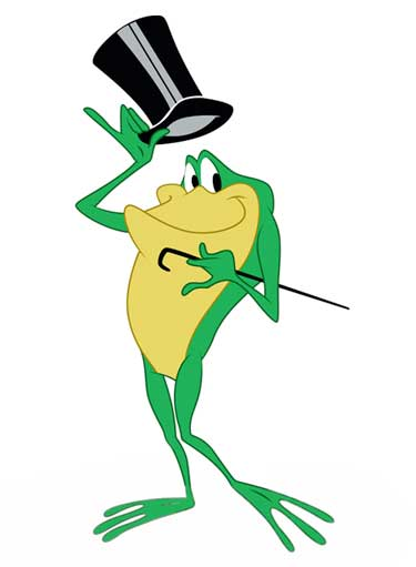 Michigan J. Frog Cartoon Picture