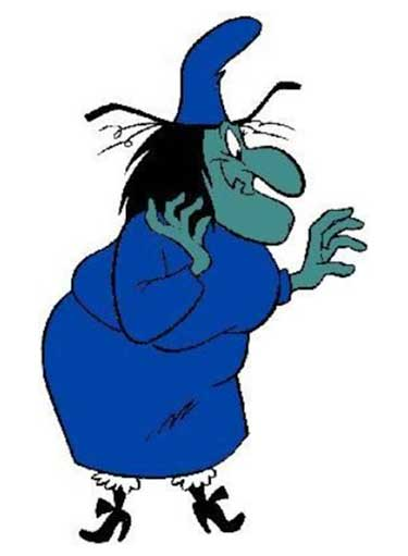 Witch Hazel Cartoon Picture
