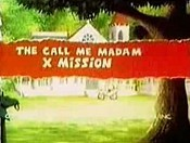 The Call Me Madame X Mission Cartoon Character Picture