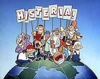 Histeria! Goes To The Moon Pictures In Cartoon