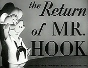 The Return Of Mr. Hook Cartoon Funny Pictures