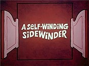 A Self-Winding Sidewinder Cartoon Picture