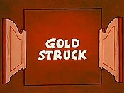Gold Struck Cartoon Picture