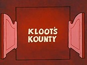 Kloot's Kounty Picture Into Cartoon