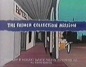 The French Collection Mission Cartoon Character Picture