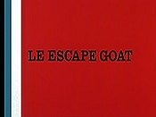 Le Escape Goat Free Cartoon Picture