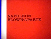 Napoleon Blown-Aparte Free Cartoon Picture
