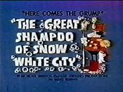 The Great Shampoo Of Snow White City Pictures Of Cartoon Characters
