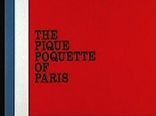 The Pique Poquette Of Paris Cartoon Character Picture