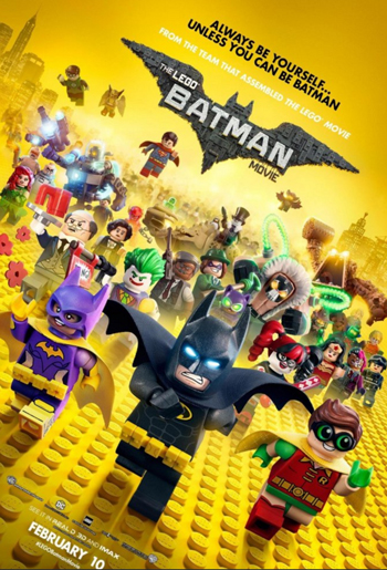 The LEGO Batman Movie Cartoon Character Picture
