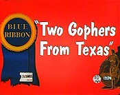 Two Gophers From Texas Cartoon Picture