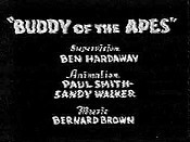 Buddy Of The Apes Pictures In Cartoon