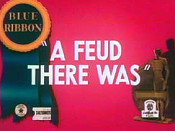 A Feud There Was Cartoon Funny Pictures