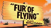 Fur Of Flying Cartoon Picture