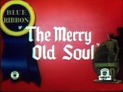The Merry Old Soul Free Cartoon Picture