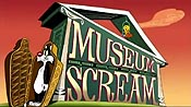Museum Scream Free Cartoon Pictures