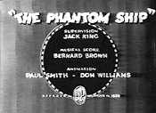 The Phantom Ship Cartoon Picture