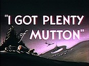 I Got Plenty Of Mutton Cartoon Picture