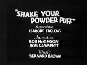 Shake Your Powder Puff