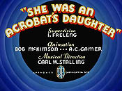 She Was An Acrobat's Daughter Pictures Of Cartoon Characters