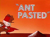 Ant Pasted Cartoon Picture