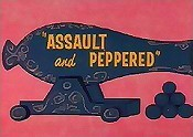 Assault And Peppered Cartoon Picture
