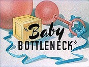 Baby Bottleneck Cartoon Picture