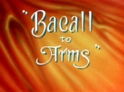 Bacall To Arms Cartoon Picture