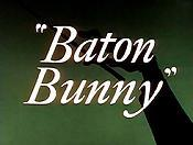 Baton Bunny Cartoon Picture