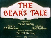 The Bear's Tale The Cartoon Pictures