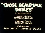 Those Beautiful Dames Cartoon Picture