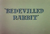 Bedevilled Rabbit Cartoon Picture