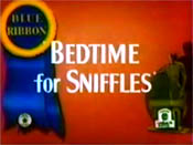 Bedtime For Sniffles Cartoon Picture