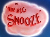 The Big Snooze Picture Of Cartoon