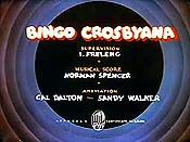 Bingo Crosbyana Pictures Of Cartoons