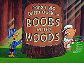 Boobs In The Woods Cartoon Picture