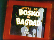 Little Ol' Bosko In Bagdad Pictures To Cartoon
