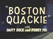 Boston Quackie Cartoon Funny Pictures