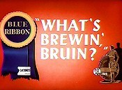What's Brewin', Bruin? Picture To Cartoon