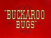 Buckaroo Bugs Cartoon Character Picture