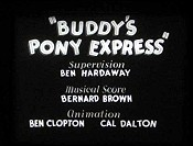 Buddy's Pony Express Pictures In Cartoon