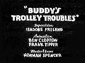 Buddy's Trolley Troubles Cartoon Funny Pictures