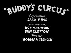 Buddy's Circus Pictures In Cartoon