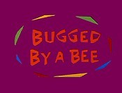 Bugged By A Bee Cartoon Picture