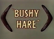Bushy Hare Cartoon Picture