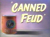 Canned Feud Cartoon Picture