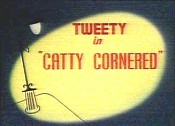 Catty Cornered Cartoon Picture